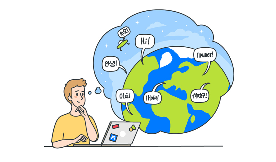 Самые популярные языки для локализации